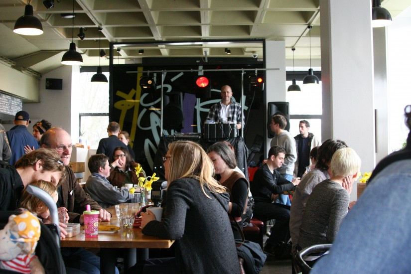 OST - at the Arnolfini cafe as part of the BLOP festival